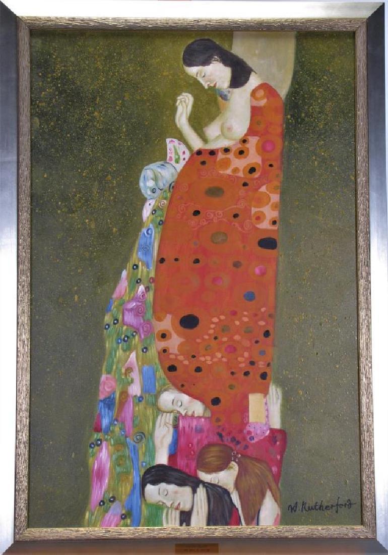 """Giclee, After Gustav Klimt, """"The Hope, II"""""""