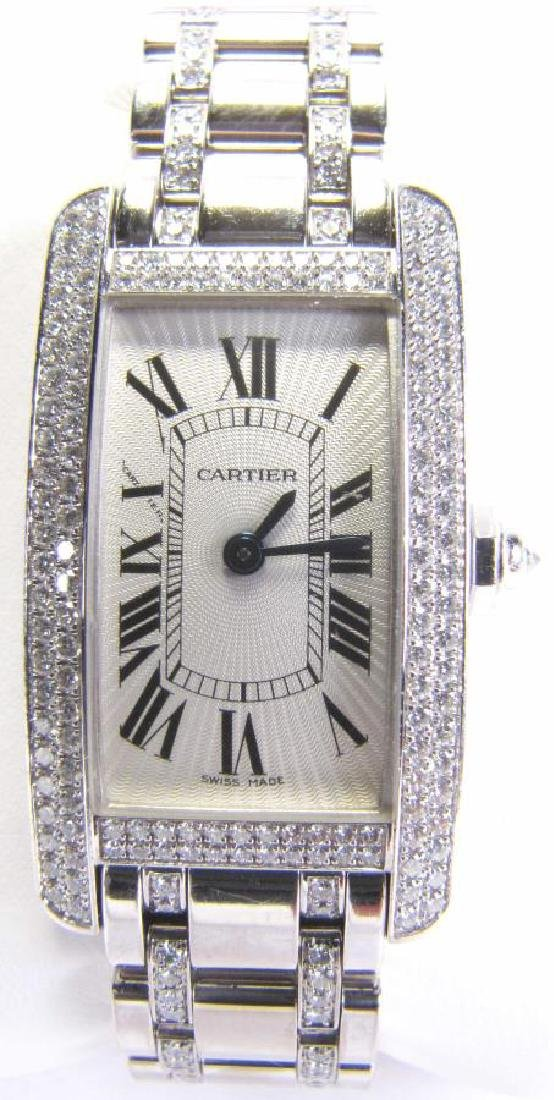 Cartier Tank American Wristwatch