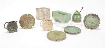 Group of Vintage Frankoma Art Pottery
