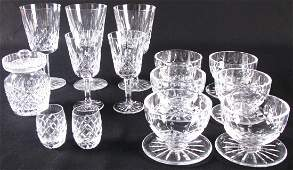 Group of Waterford Crystal
