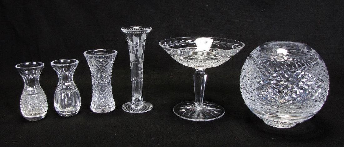 Group of Waterford and William Yeoward Crystal