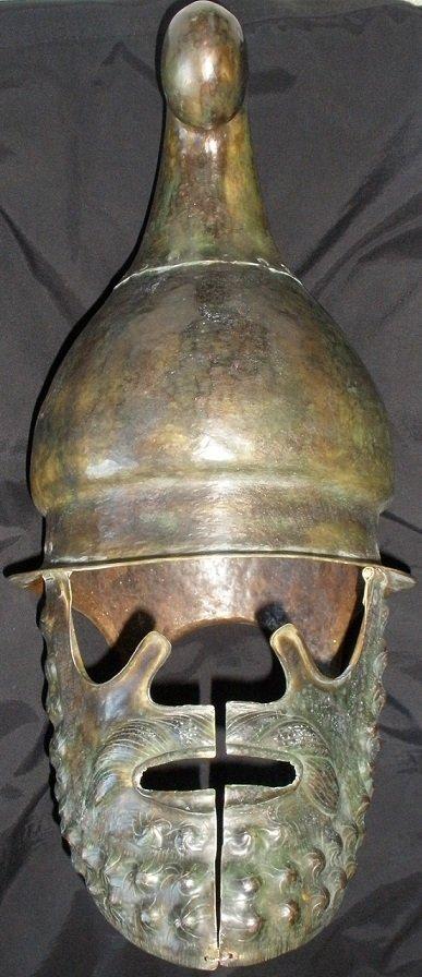 "Thracian helmet-shaped ""Phrygian cap"""