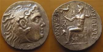 TETRADRACHM OF ALEXANDER III THE GREAT