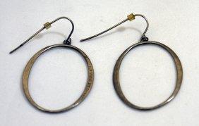 Sterling Silver 'o' Earrings
