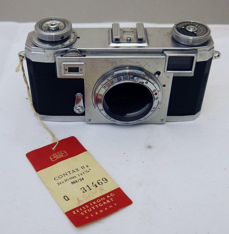 Zeiss Ikon Contax IIa 35mm Rangefinder Film Camera