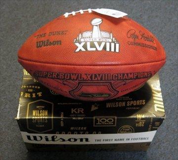 'Duke' Super Bowl XLVIII Seattle Seahawks 4884/5000