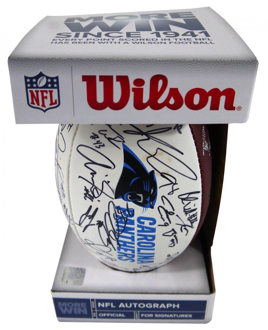 Carolina Panthers Autograph Ball
