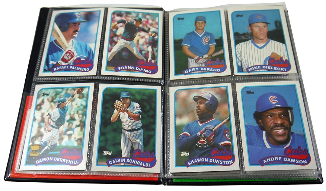 Collection of Chicago Cubs Baseball Cards