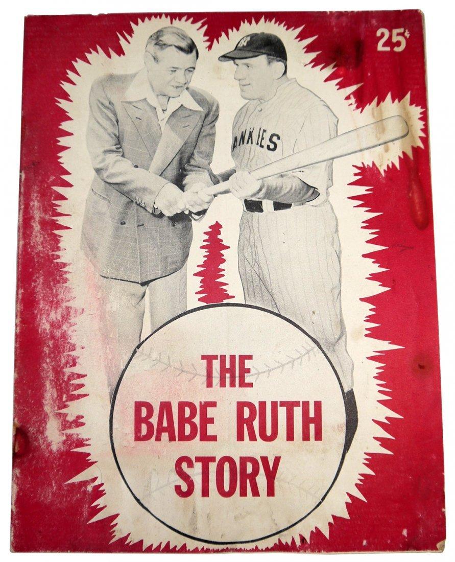 The Babe Ruth Story - Movie Souvenir Book