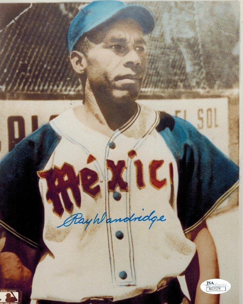 Very rare Ray Dandridge 8x10 signed - PSA DNA