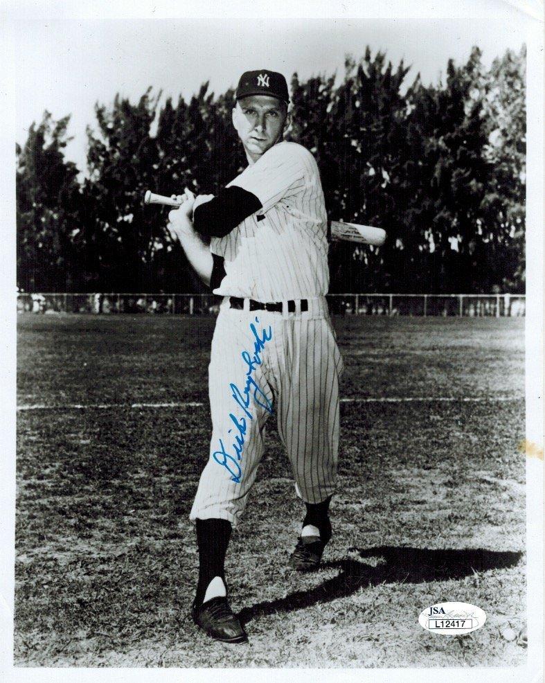 1947 Yankee Dick Kryhoski - Signed 8x10 JSA POA