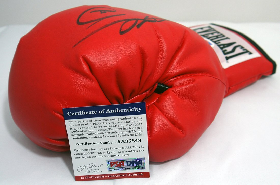 Sugar Ray Leonard Signed Glove - PSA/DNA