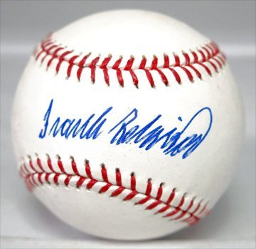 Frank Robinson Signed Ball Presentation Pack