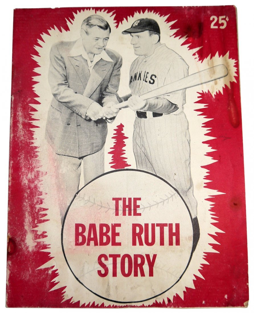 The Babe Ruth Story - Movie Souvenir Book