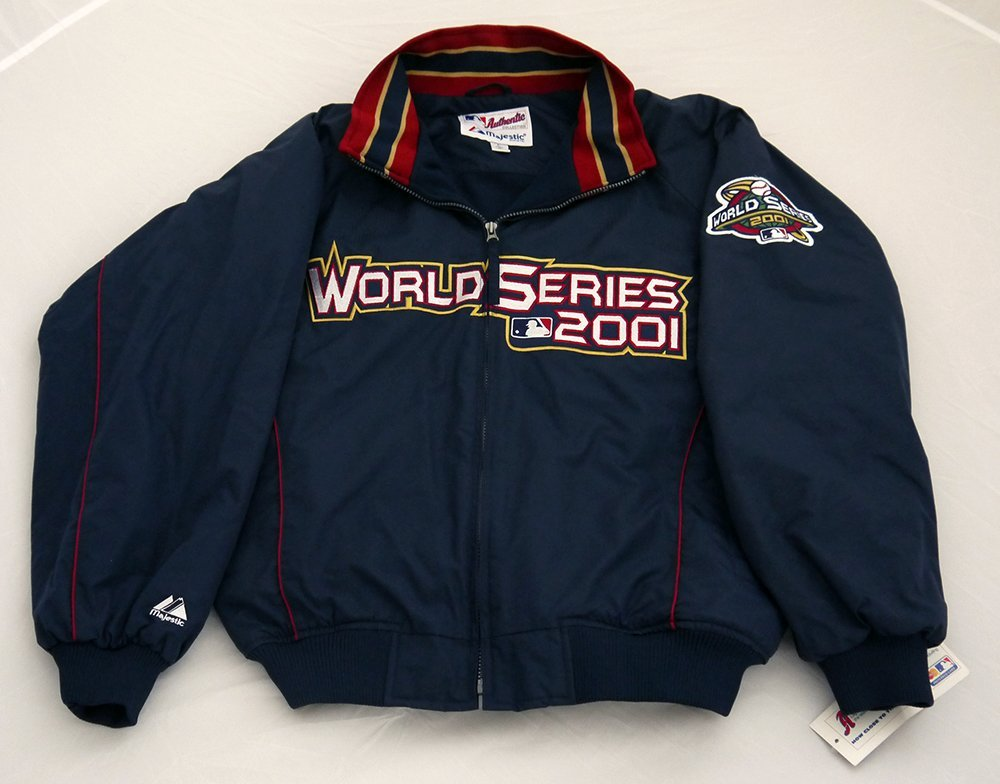 2001 Official MLB World Series Jacket Coat Size L