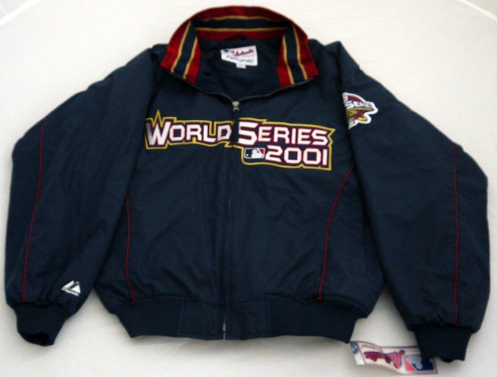 2001 Official MLB World Series Jacket Coat Size L