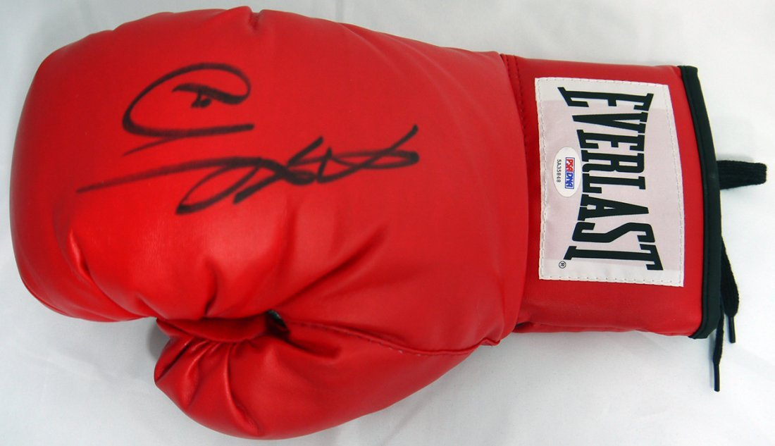Sugar Ray Leonard Signed Glove - PSA/DNA