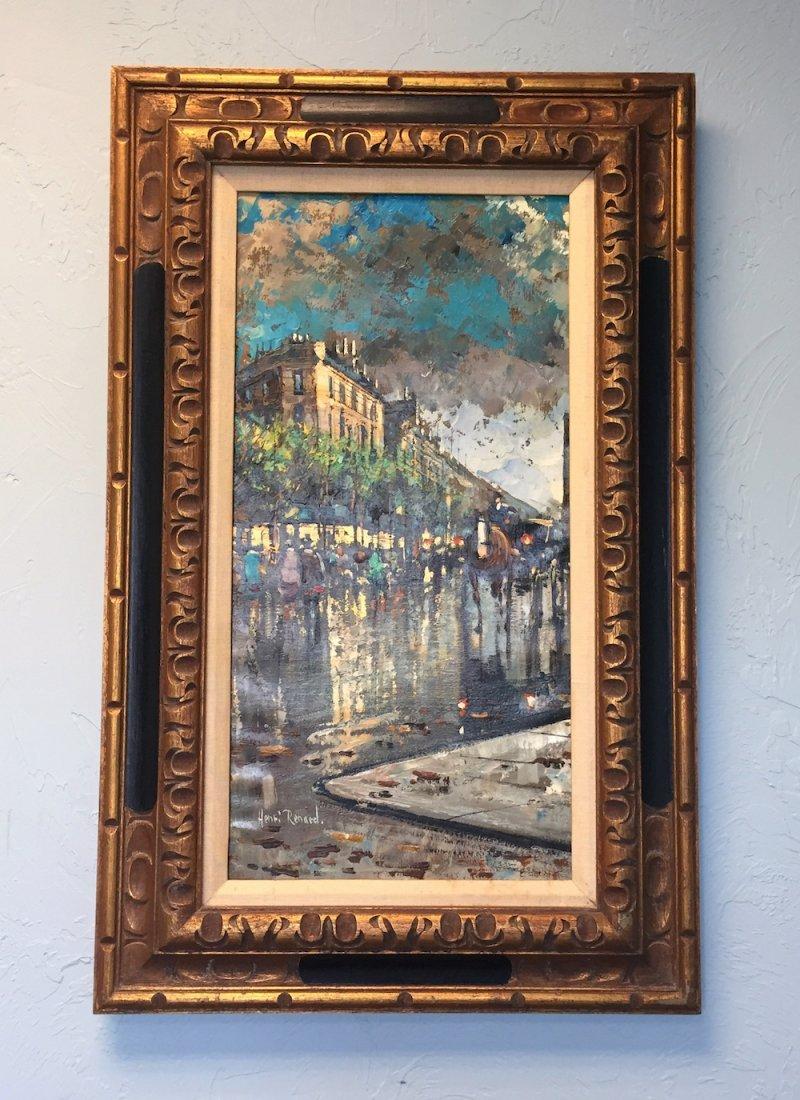 Henri Renard - A Parisian Scene