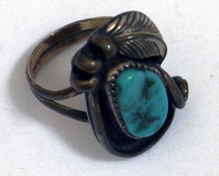 1940's Sterling Silver Navajo Ring