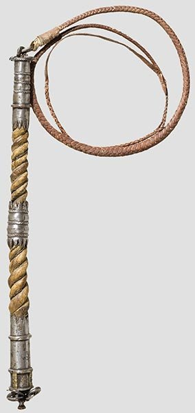 2001: A dog whip for riding to hounds