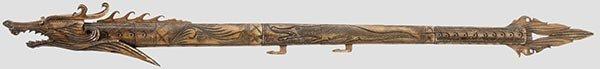 3068: Geschnitztes Blasrohr,