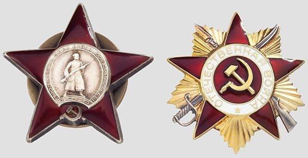 5017: Sowjetunion - Ordenskonvolut.