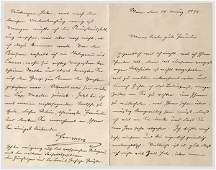 5564: Kaiser Franz Joseph von Österreich - Liebesbrief