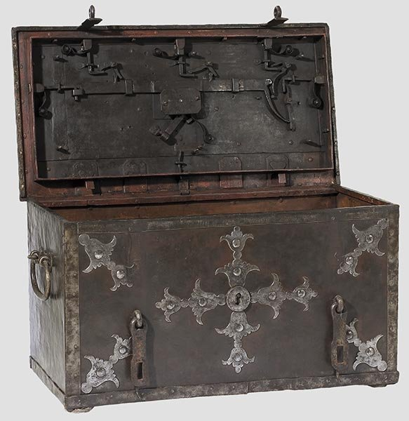 2012: A large German war chest