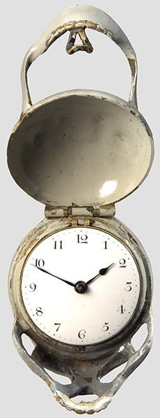 2018: An English verge watch with a death's head case