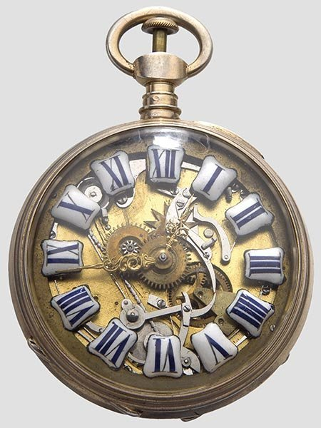 2024: A skeleton pocket watch