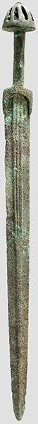1: Bronzeschwert,