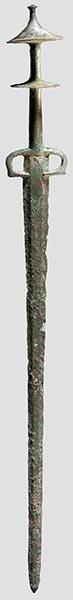 9: Altpersisches Bronzeschwert,