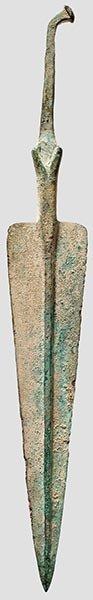 10: Nordiranischer Bronzedolch,