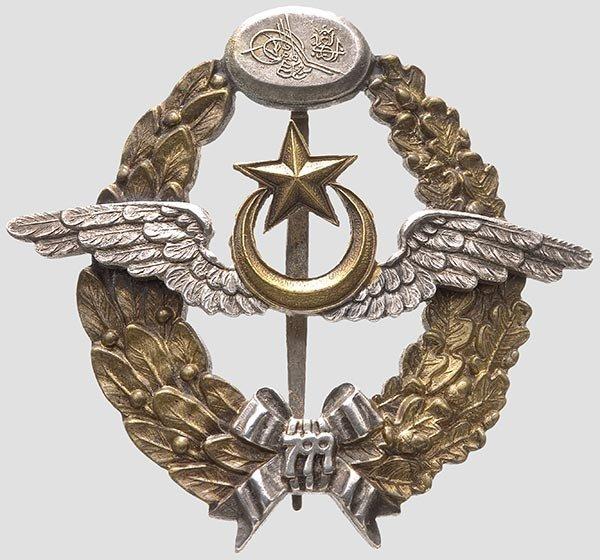 5024: Türkei - Abzeichen für Militärflugzeugführer,
