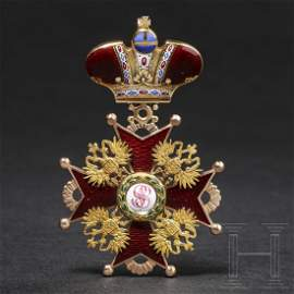 A Russian Order of St. Stanislaus – a cross 2nd class