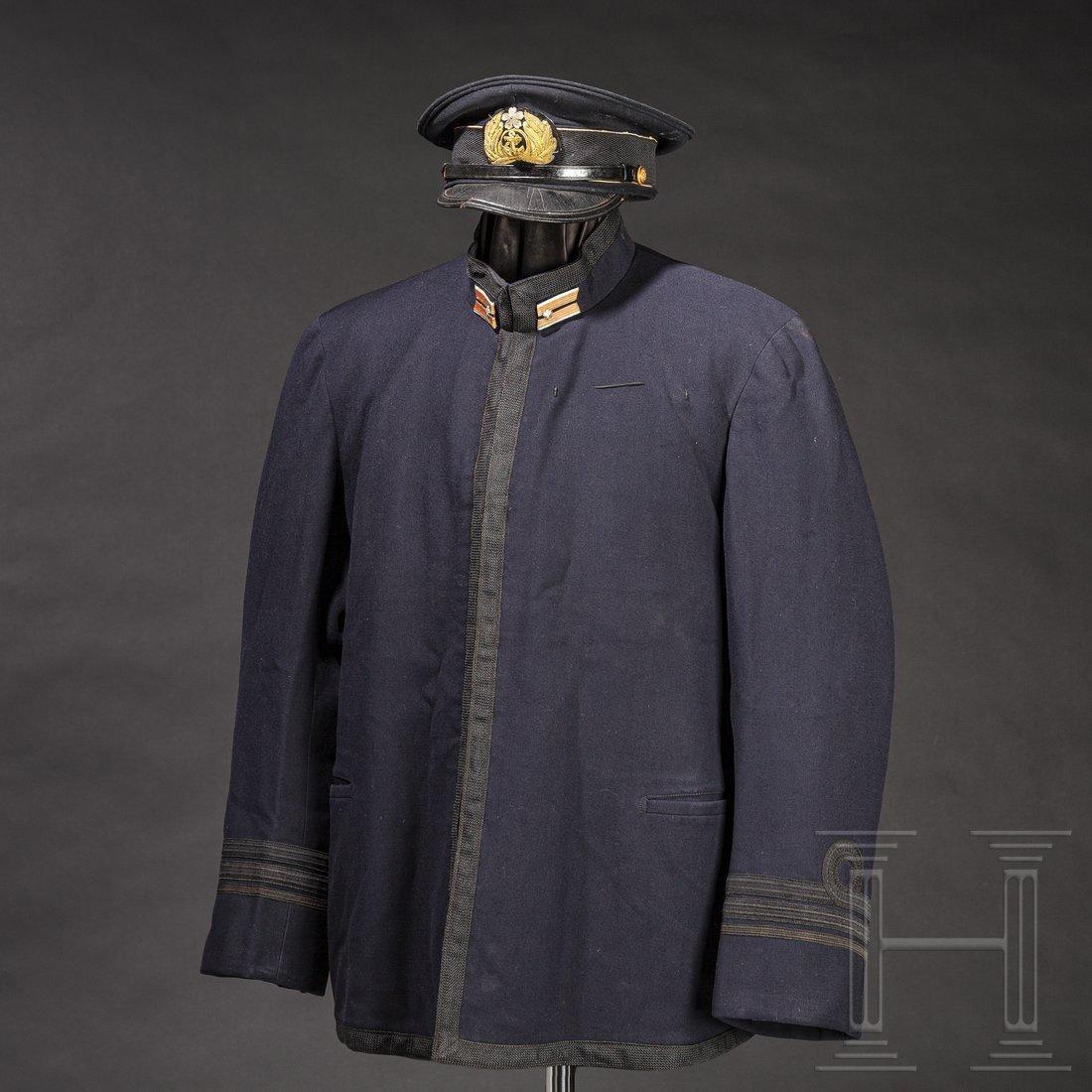 A set comprising uniform and equipment belonging to a
