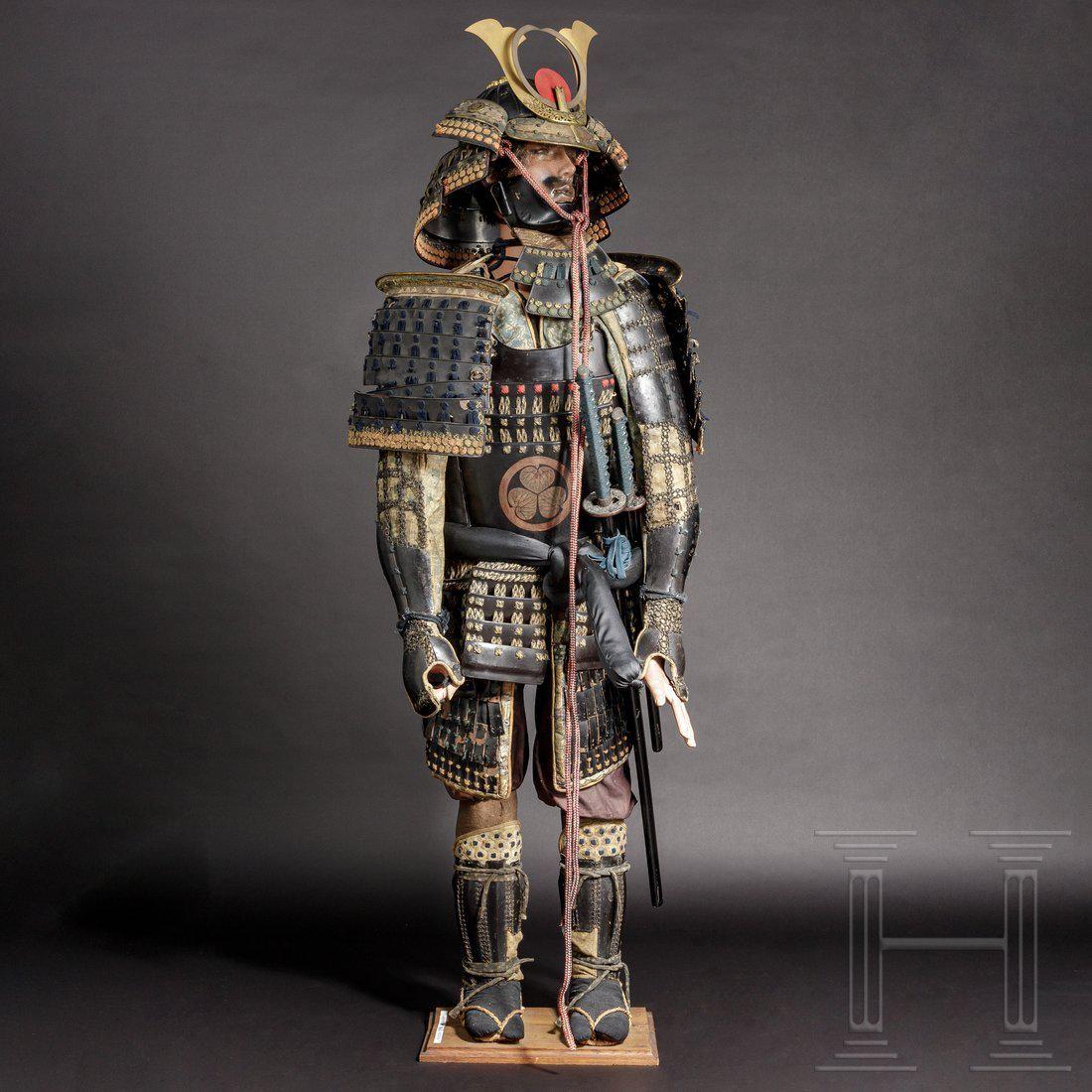 A Japanese tosei gusoku, some parts mid-Edo/Meiji