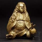 Small gilt bust of Emperor Leopold I, Austria, circa