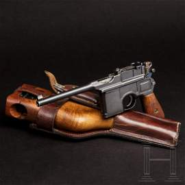 """Mauser C 96 """"Wartime Commercial"""" mit kaiserlicher"""