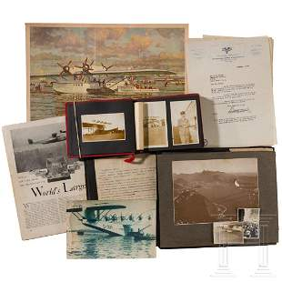 A group of photographs belonging to Fritz Krause, the