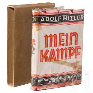 "Margarethe Bauderer – ""Mein Kampf"" 1927, volume 2, in"