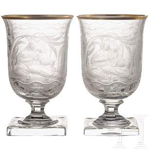 Hermann Göring – two goblets from his hunting