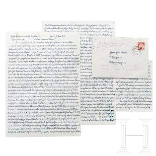 Jakob Grimminger (1892-1969) – a handwritten letter