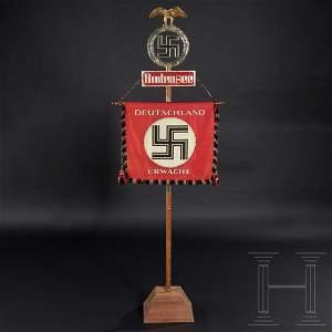 """An NSDAP standard of the SA Bodensee """"Deutschland"""