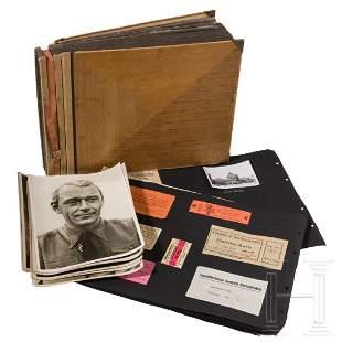 A photo album with 400 photos of an SA man of the