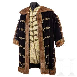 A gala costume of a Hungarian magnate, 2nd half of the