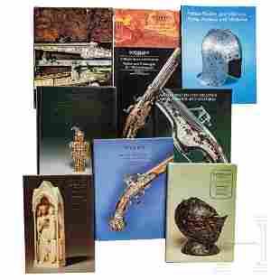 Nine Sotheby's catalogs