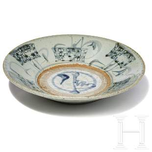 A Chinese bowl, Ming Dynasty, 15th - 16th century