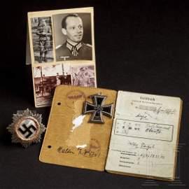 Colonel Walter Vogel - a Knight's Cross, a German