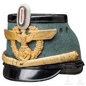 A shako for generals of the Schutzpolizei (uniformed